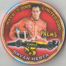 LAS VEGAS PALMS  $5  BRYAN HERTA 2005 RACING ANDRETTI GREEN  CHIP