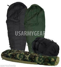 MSS 5 Pc Goretex Military Woodland Modular Sleep System Bivy Patrol Sleeping Bag