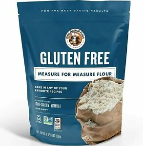 King Arthur Flour, Measure for Measure Flour, Gluten Free, 3 Pound Pack of 1 New