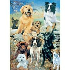 NEW Dog Jigsaw Puzzle 1000 Pieces Labrador Jack Russell Westie Collie Spaniel