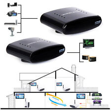 433MHz 200m Wireless IR AV Transmitter+Receiver Set for DVD DVR IPTV Excellent