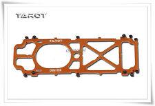 Tarot TL25111 250 Pro Metal Bottom Plate Metal Silver/Orange 250 RC Heli spare