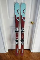 ROSSIGNOL SCRATCH PRO TWINTIP SKIS SIZE 138 CM WITH BINDINGS
