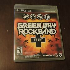 Green Day: Rock Band Plus + Sony PlayStation 3 PS3 Video Game Harmonix