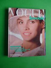 Vogue Special Italy March 1987 March Cyndi Lauper Giorgio Armani Versace Ferrè