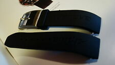 ALPINA REPLACEMENT BAND BLACK RUBBER FOR MID SIZE 300M DIVER