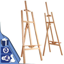 Studio Artist Easel Wood Display Arts Crafts Easels Stand Craft Gallery Mount