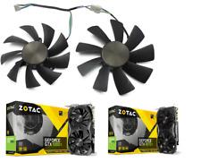 Set Fan For Zotac 1080Ti MINI 1070Ti Mini ZT-P10710G-10P ZT-P10810G-10P GA92S2H
