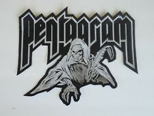 PENTAGRAM DOOM METAL EMBROIDERED BACK PATCH