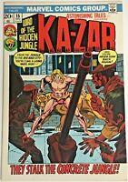 ASTONISHING TALES#15 VF 1972  KA-ZAR MARVEL BRONZE AGE COMICS