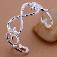 Damen Armreif Infinity pl. mit Sterlingsilber Armband, Damenarmreif DB006-2 T::A