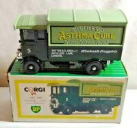 Corgi BP Great Britain Light GreenDark Green AEC 508 5-Ton Cabover 1:40 NIB