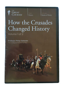 Great Courses CD How the Crusades Changed History by Philip Daileader, Military