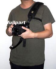 Black Quick Rapid Sling Shoulder Neck Strap Belt for Digital SLR DSLR Camera NEW