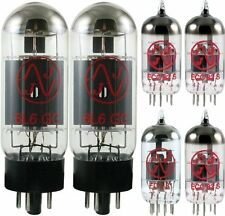 JJ Tesla Premium Tube Complement Set for Peavey Encore 65 Guitar Amp Amplifier