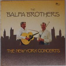 BALFA BROTHERS: New York Concerts LOUISIANA CAJUN fiddle SWALLOW vinyl LP NM-