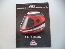 advertising Pubblicità 1982 CASCO HELMET JEB'S