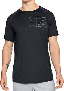 Under Armour Raid 2.0 Graphic Short Sleeve Mens Training Top - Black
