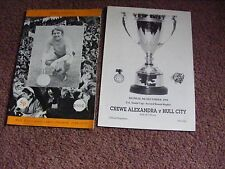 1991 Crewe v Hull City FA youth Cup replay