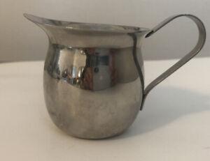 Vollrath Stainless Steel 18/8 India Cup Creamer Milk Espresso Pitcher 46003