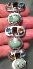 Handmade Turquoise Sterling Silver Fine Bracelets