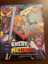 Great Mazinger Blu Ray Complete Tv Series Discotek Media Official Anime