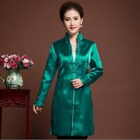 8 10 12 14 16 18 Chinese women/'s winter cotton jacket coat Cheongsam Sz