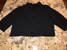 Michael Kors Women's Blazer Jacket Button Up Shirt Black Size Medium