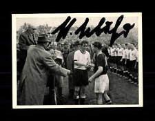 Hans Schäfer DFB Kosmos Sammelbild WM 1954 Original Signiert+ A 150211