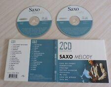 RARE 2 CD DIGIPACK ALBUM COMPILATION SAXO MELODY 30 TITRES 1999