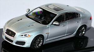 Jaguar Xfr V8 Limousine 2009-15 Rhodium Silver Metallic 1:43 Ixo