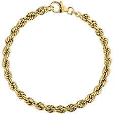 Pulsera Cuerda 14k Oro (585) GG 18,5 cm gold-armband PULSERA MUJER HOMBRE