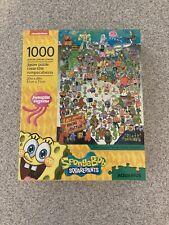 Aquarius 1000 piece puzzle Spongebob squarepants complete