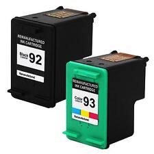 2 PK 92 93 Ink Cartridge compatible For HP Photosmart C3135 C3140 C3150 C3180