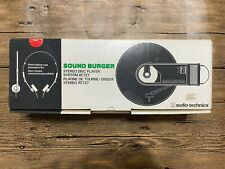NOS Audio-Technica AT727 SOUND BURGER personal turntable RED