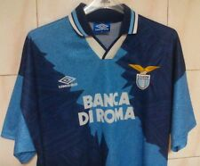Lazio away shirt Umbro, XL,1994/96, UBLN. SIGNORI CASIRAGHI GASCOIGNE NESTA.