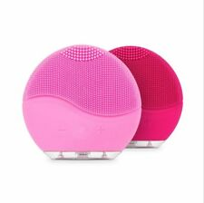 Electric Facial Cleansing Brush Mini Exfoliating Silicone Skin Care Washing