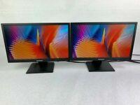 """PAIR (2x) Lenovo LS2023wC 20"""" Widescreen 1600 x 900 VGA DVI LCD Monitors"""