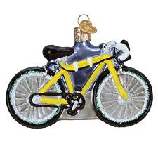 """Road Bike"" (46067) Old World Christmas Ornament w/OWC Box"