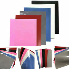 6PCS A4 Sheet PU Heat Transfer Vinyl Iron-on T-shirt Textiles Press Cutter Film