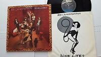 REO SPEEDWAGON - Nine Lives 1979 HARD ROCK Gatefold + Inner (LP)