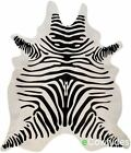 Zebra Cowhide Rug Cow Hide Area Rugs Skin Leather