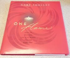 One Flame How to Weather Winds in Marriage by Gary Smalley 2002 Hardcover wth DJ