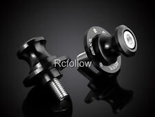 8MM Black Swingarm Sliders Spools For Suzuki Motorcycles GSRX600/750/1000/1100