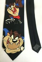 Vintage 1999 Warner Bros Looney Tunes Tasmanian Devil Taz Rugby Union Black Tie