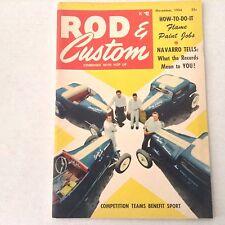 Rod & Custom Magazine Navarro What The Records Mean November 1954 062317nonrh