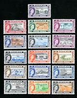 Bahamas Stamps # 185-200 VF OG LH