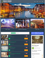 Hotels And Flights Automated Travel Website Business For Sale Work From Home