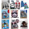 Disney Lego Marvel Star Wars Duvet Cover Bedding Gift Christmas Birthday Set UK