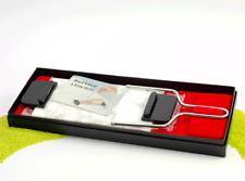 Schneider für Foie Gras Pastete & Co - Marmorplatte mit Schneidedraht - wie neu